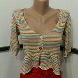 блуза,кофточка укороченная, кроп-топ бренд Per una M&S