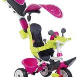 Велосипед детский Smoby Baby Driver розовый 741201 741200, 741202