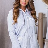 Женская куртка кофта толстовка парка ткань турецкая двунитка скл.1 арт. 57899