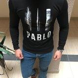 Стильный свитшот Pablo S M L XL 2 Расцветки