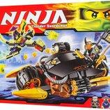 Конструктор Ninjago Ниндзя Бластер-Байк Коула Аналог LEGO