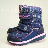 Термо termo сапоги B&G ботинки зимние