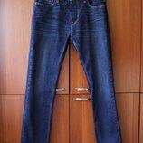 Мужские джинсы Hollister темно синие 32 30 размер