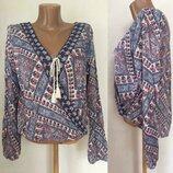 Стильная блузка известной дорогой марки Hollister