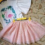 Шикарная пышная юбочка от H&M 122-128 -134
