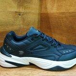 Мужские кожаные кроссовки restime в стиле nike tekno