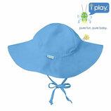 Детская солнцезащитная панама панамка шляпа с широкими полями I Play 6-18 мес