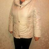 Курточка бежевая 18-20 размер