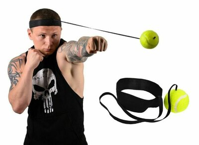 Боксерський тренажер Файтбол Fight Ball мяч для бокса