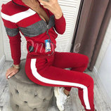 Женский спортивный костюм двойка Smash ткань двунитка скл.10 арт.763