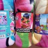 Детское покрывало плед Литл Пони Леди Баг Скай Принцессы Дисней щенячий патруль Эверест