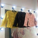 Очень красивые Модные Куртки- Жакеты в 3 расцветках