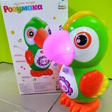 Музыкальный интерактивный Умный попугай, Розумака, KI-7064, Країна іграшок