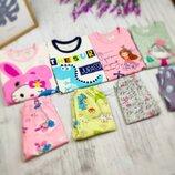 Детская пижама трикотажная легкая для мальчика пижама для девочки