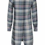 Удлиненная рубашка, блуза с запАхом на спине RIVER ISLAND 7/8 лет Великобритания