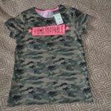 Новая футболка девочке YD Primark 11 лет рост 146 Англия