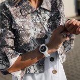 Женская кожаная куртка ветровка принт питон скл.1 арт.56824