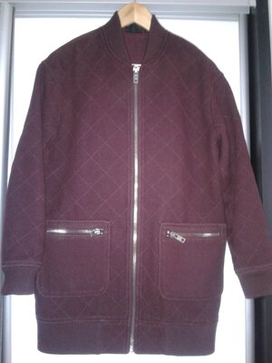 Бомбер пальто