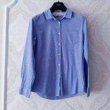 Размер 12 Нежная фирменная тоненькая джинсовая рубашка