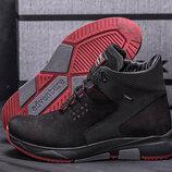 Мужские кожаные ботинки ZG 129 черн