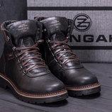Мужские кожаные ботинки ZG 139 ч кор