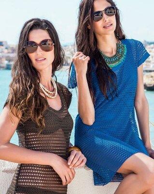 Пляжная накидка,парео,платье от бренда esmara