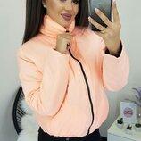 Женская куртка плащевка канада на синтепоне микс цветов хит сезона скл.1 арт. 57531