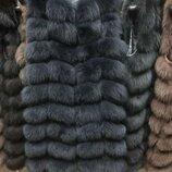 Жилетки из песца Застежка крючки Боковые карманы Мех пушистый, густой, мягкий. Качество пошива и м