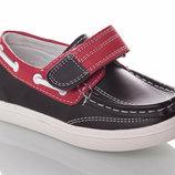 туфли-мокасины B&G натуральная кожа наличие все рр. 25-30