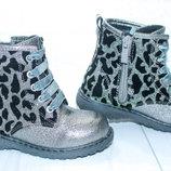 Демисезонные ботинки на девочку тм Том.м, р. 25,26,27,28,29,30,31,32