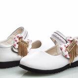 Нарядные туфельки натур. кожа наличие все рр. 26-31