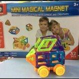 Конструктор M032 магнитный. Конструктор для мальчика. Магнітний конструктор.