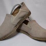 Мокасины слипоны Mjus RBL Slip On / Airstep туфли кожаные. Оригинал. 41 р./26.5 см.