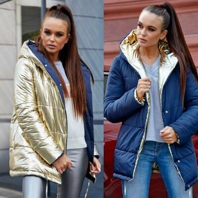 Крутая двухсторонняя куртка 1243