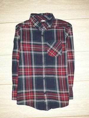 Яркая, тёплая рубашка TU на 8 лет