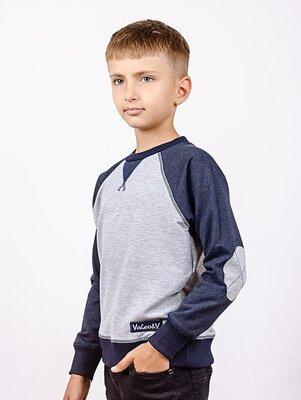 Джемпер реглан для мальчика рост 116-140