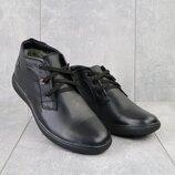 Мужские зимние ботинки из натуральной кожи Vankristi 731