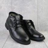 Ботинки зимние из натуральной кожи Vankristi 734 black