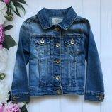 Джинсовый пиджак. Zara. 4-5 лет. 104-110 рост.