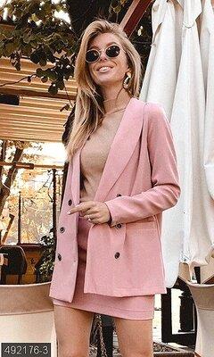 Костюм пиджак и юбка 42-44,44-46