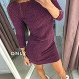 Модное платье женское,Ангора-рубчик