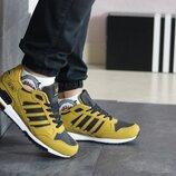 Adidas ZX 750 кроссовки мужские демисезонные горчичные 8349