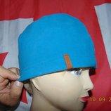 Флисовая спортивная фирменная шапочка шапка .TCM Tchibo.Германия .м-л-хл.56-59