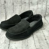 Кожаные туфли crocs women's walu shimmer leather loafer made in vietnam 37 р.