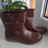 Женские Демисезонные сапоги 37р ботинки