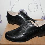 кожаные туфли броги clarks narrative Индонезия
