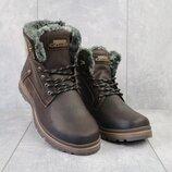 Ботинки мужские зимние из натуральной кожи Zangak 137