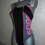 36/XS Speedo endurance ,оригинал серый хлоростойкий купальник для плавания
