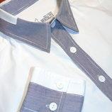 NEW MENTALITY Шикарная белая рубашка - XL - L
