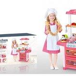 Кухня WD-P38. Дитяча кухня. Детская кухня. Игровой набор кухня. Ігровий набір кухня.